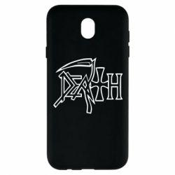 Чехол для Samsung J7 2017 death - FatLine