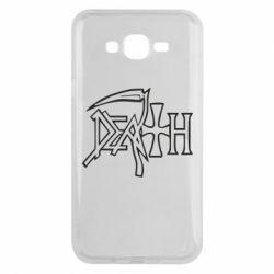 Чехол для Samsung J7 2015 death - FatLine