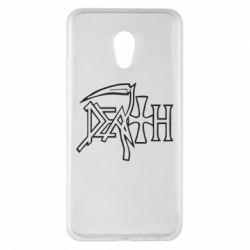Чехол для Meizu Pro 6 Plus death - FatLine