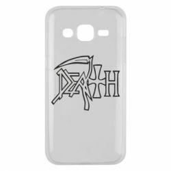 Чехол для Samsung J2 2015 death - FatLine