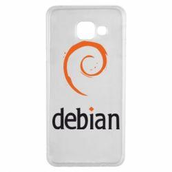 Чехол для Samsung A3 2016 Debian