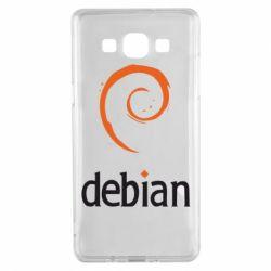 Чехол для Samsung A5 2015 Debian