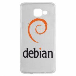 Чехол для Samsung A5 2016 Debian
