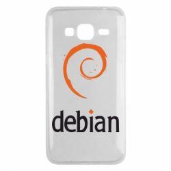 Чехол для Samsung J3 2016 Debian