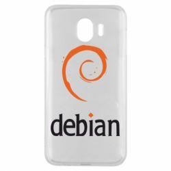 Чехол для Samsung J4 Debian