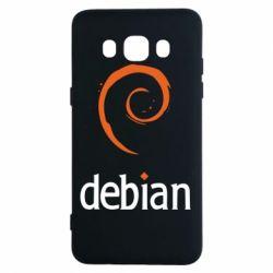 Чехол для Samsung J5 2016 Debian