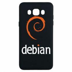 Чехол для Samsung J7 2016 Debian