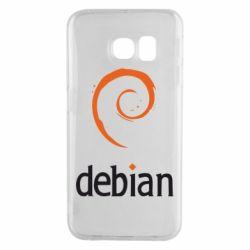 Чехол для Samsung S6 EDGE Debian