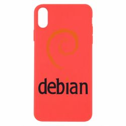 Чехол для iPhone Xs Max Debian