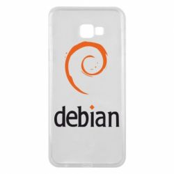 Чехол для Samsung J4 Plus 2018 Debian