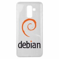 Чехол для Samsung J8 2018 Debian