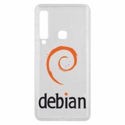 Чехол для Samsung A9 2018 Debian