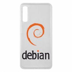 Чехол для Samsung A7 2018 Debian