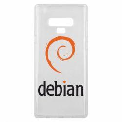 Чехол для Samsung Note 9 Debian