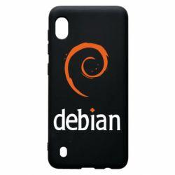Чехол для Samsung A10 Debian