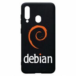 Чехол для Samsung A60 Debian