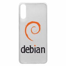 Чехол для Samsung A70 Debian