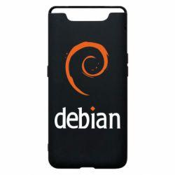Чехол для Samsung A80 Debian