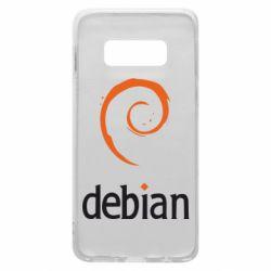 Чехол для Samsung S10e Debian