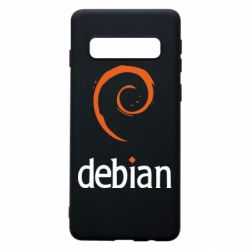 Чехол для Samsung S10 Debian