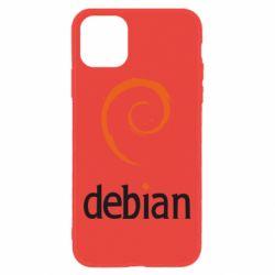 Чехол для iPhone 11 Debian