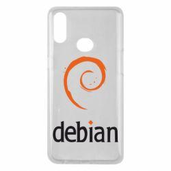 Чехол для Samsung A10s Debian