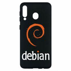 Чехол для Samsung M30 Debian