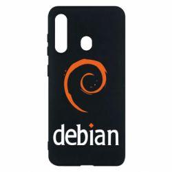 Чехол для Samsung M40 Debian