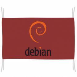 Флаг Debian