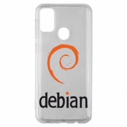 Чехол для Samsung M30s Debian