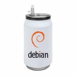Термобанка 350ml Debian