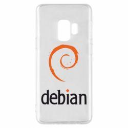 Чехол для Samsung S9 Debian