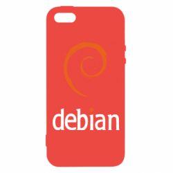 Чехол для iPhone5/5S/SE Debian