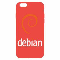 Чехол для iPhone 6 Debian