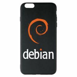 Чехол для iPhone 6 Plus/6S Plus Debian
