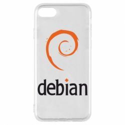 Чехол для iPhone 7 Debian