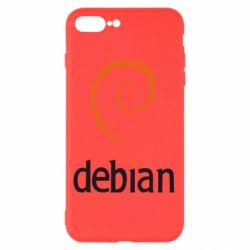 Чехол для iPhone 7 Plus Debian