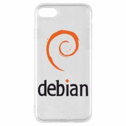 Чехол для iPhone 8 Debian