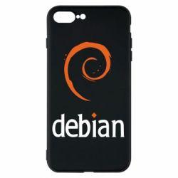 Чехол для iPhone 8 Plus Debian