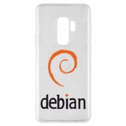Чехол для Samsung S9+ Debian