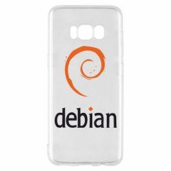 Чехол для Samsung S8 Debian