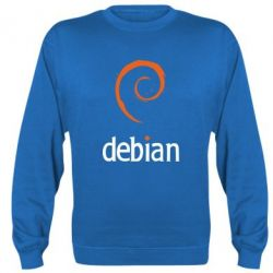 Реглан (свитшот) Debian - FatLine