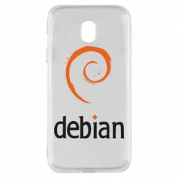 Чехол для Samsung J3 2017 Debian