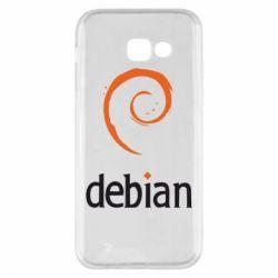 Чехол для Samsung A5 2017 Debian