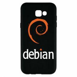 Чехол для Samsung A7 2017 Debian