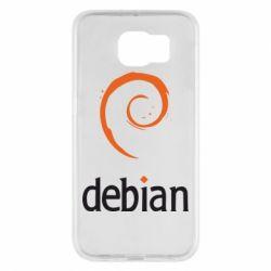 Чехол для Samsung S6 Debian