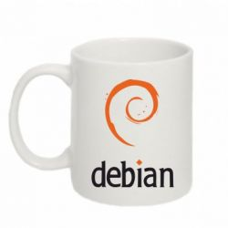 Кружка 320ml Debian - FatLine