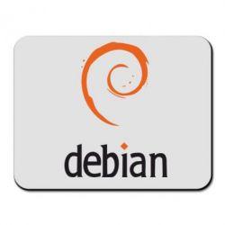 Коврик для мыши Debian - FatLine