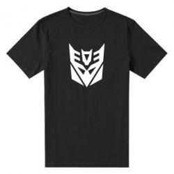 Мужская стрейчевая футболка Decepticons logo