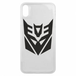 Чехол для iPhone Xs Max Decepticons logo